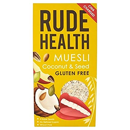Rude Health - Muesli de coco y semillas, 17.64 oz: Amazon ...