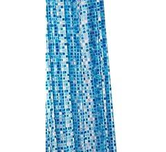 Croydex AE543424 - Cortina de Ducha de PVC con diseño de Mosaico ...