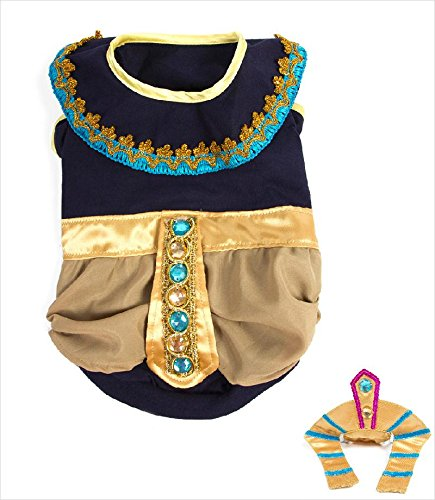King Mutt Pharoah Costume for Dogs (Size 3 (10.75