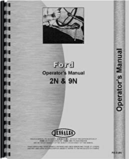 amazon com ford tractor operators manual 2n tractor 9n tractor rh amazon com ford 8n operators manual free ford 8n operators manual free