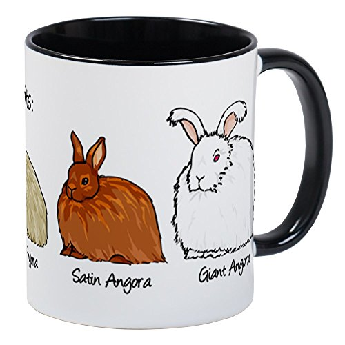 (CafePress The Angora Rabbits Mugs Unique Coffee Mug, Coffee Cup)