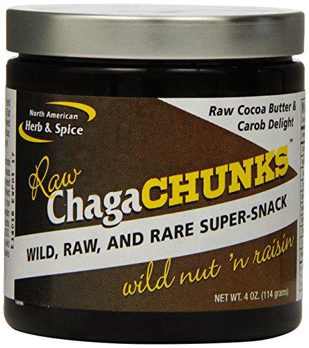 North American Herb and Spice Chagachunks Powder, Nut 'n Raisin, 4 Ounce