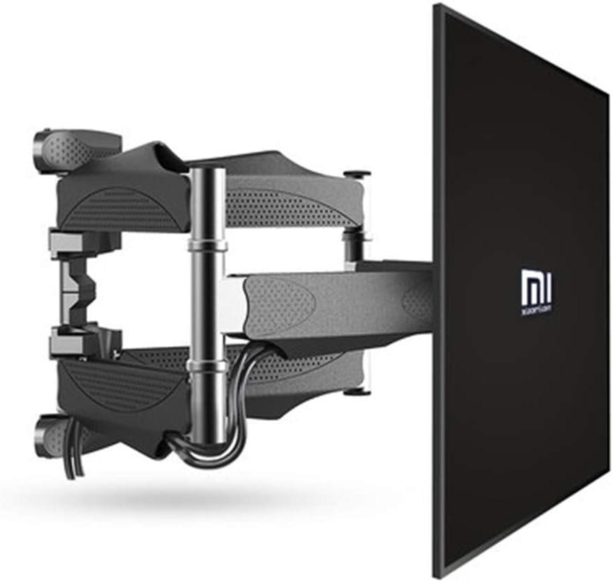 Montaje de pared de TV soporte de movimiento completo articular extender el brazo para la mayoría de 32-65 pulgadas LED, LCD, televisores de pantalla plana OLED hasta 88LBS con inclinación, negro: Amazon.es: