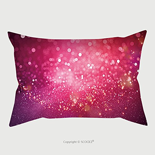 Custom Microfiber Pillowcase Protector Abstract Pink Bokeh Christmas Background Modern Simple Flat Sign Trendy Valentine Decoration 520122889 Pillow Case Covers Decorative price