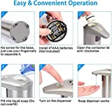Fotiluck Automatic Soap Dispenser, Stainless Steel