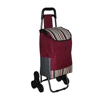 Carrito de la carretilla - cesta de compras plegable 6 ruedas - Carro de la compra , 11#: Amazon.es: Hogar