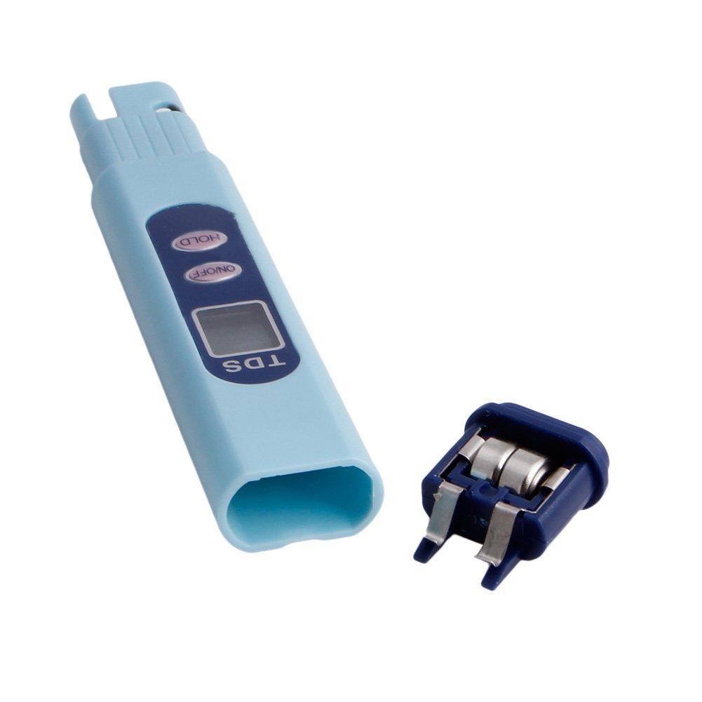 Xineker Testeur//Compteur deau Num/érique pour Stylo LCD TDS pour D/étecteur De Qualit/é De leau De Moniteur De Puret/é De Piscine