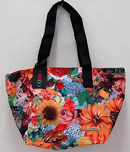 Tasche Shopper Comix All Over Blumen Cod. 8039