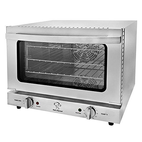 Chefs Supreme - 120v Quarter Size Countertop Convection Oven