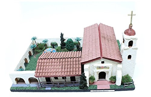 California Mission Model Kit Santa Cruz Mission (Mission Santa)