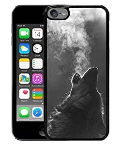 Newest iPod Touch 6 Case ,Popular And Beautiful Designed Case With Winter Wolf Howling black iPod Touch 6 Screen Cover High Quality Phone Case