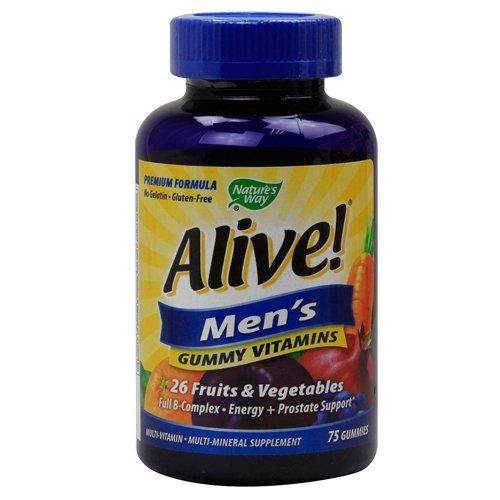Природы Путь жив! Мужская энергия Gummy Multi-витамины Chewables, 75 граф