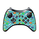 Zelda Weapons Pattern Wii U Pro Controller Vinyl Decal Sticker Skin by Demon Decal