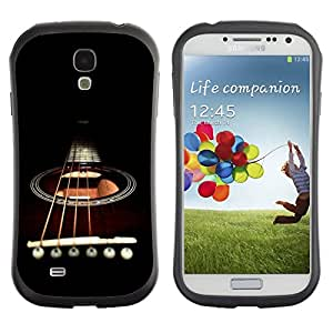 Suave TPU GEL Carcasa Funda Silicona Blando Estuche Caso de protección (para) Samsung Galaxy S4 I9500 / CECELL Phone case / / Minimalist Guitar & Strings /