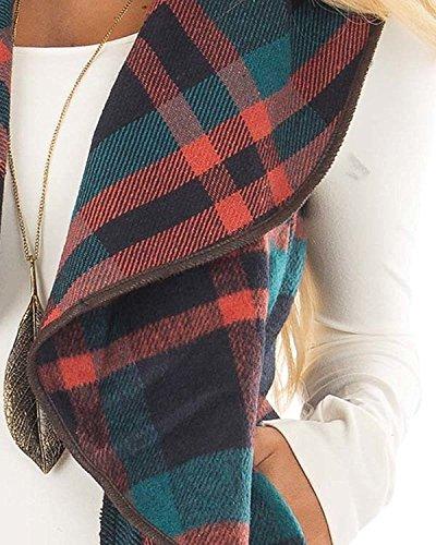 lunghe Donna Maniche Cardigan Shelers Verde RqE4vwwtx