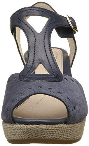 Stonefly Marlene Ii 6, Sandalias con Cuña para Mujer Azul (Denim V33)