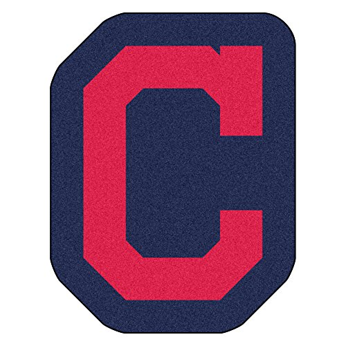 Fanmats MLB Cleveland Indians Mascot Mat, Team Color, One Size