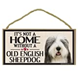 Imagine This Wood Sign for Old English Sheepdog Dog Breeds