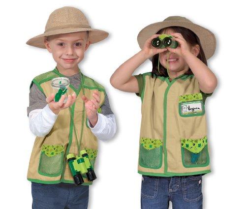 Melissa & Doug - Disfraz para explorador de jardín (14789)