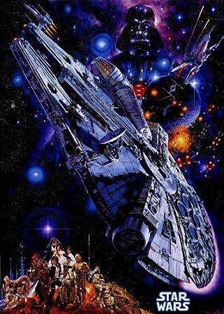 POSTERS Star Wars Halcón Milenario del cartel de película ...
