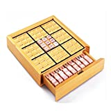 Dream Travel Deluxe Sudoku Game Puzzle Adult Children Intelligence Toys Wooden Board Games