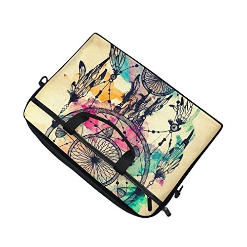 jstel Traumfänger Laptop Schulter Messenger Tasche Fall Sleeve für 35,6cm zu 39,6cm mit verstellbarer Notebook Schultergurt