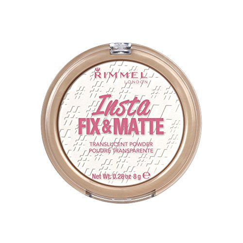 Rimmel Insta Fix & Matte Setting Powder, Translucent, 0.28 Ounce