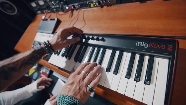 IK Multimedia iRig Keys 2 Pro Full-sized 37-key MIDI Keyboard Controller with Velocity-sensitive Keys for iPhone, iPad…