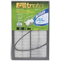 20x20x1 Filtrete 500 Dust and Pollen Refillable Filter by 3M