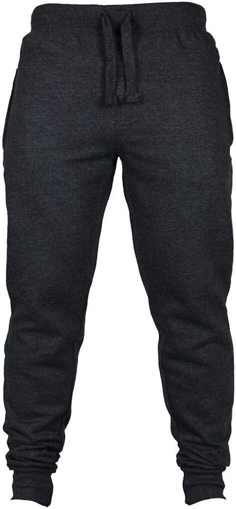 Saihui_Men Pants Pantalones de chándal para Correr para Hombre ...