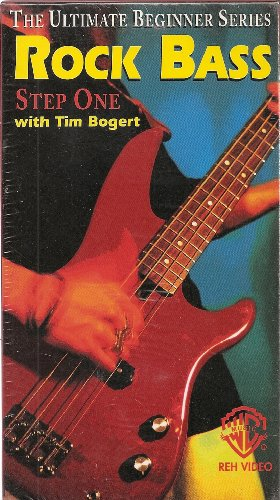 - The Ultimate Beginner Series: Rock Bass Step One and Two with Tim Bogert (Two Tape Set)