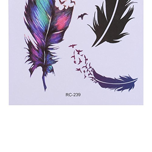 AFfeco 3D Removable Temporary Multi Patterns Waterproof Body Tattoo Sticker(RC239)