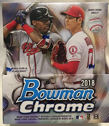 Amazoncom 2018 Bowman Chrome Hobby Box 12 Packs5 Cards 2