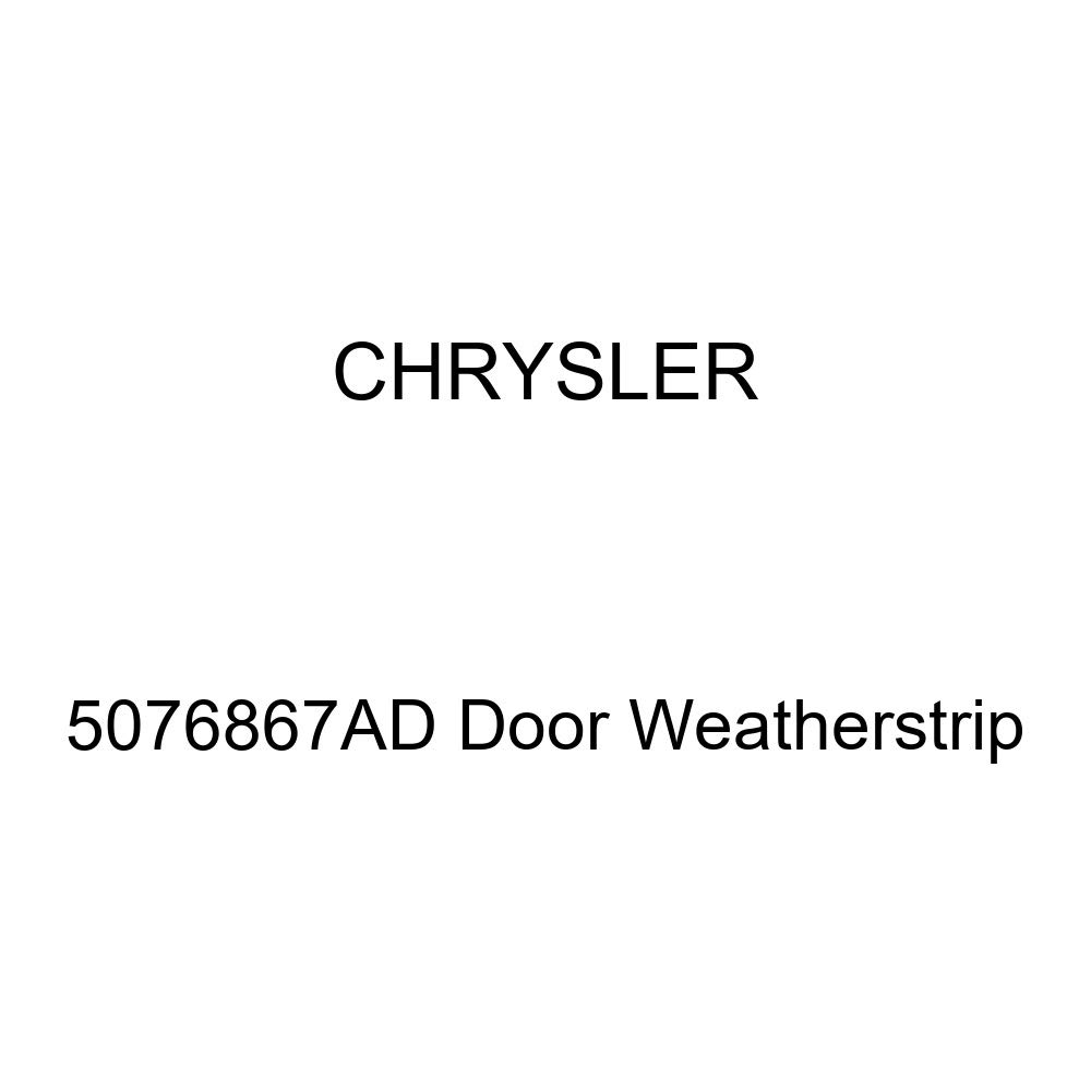 Genuine Chrysler 5076867AD Door Weatherstrip
