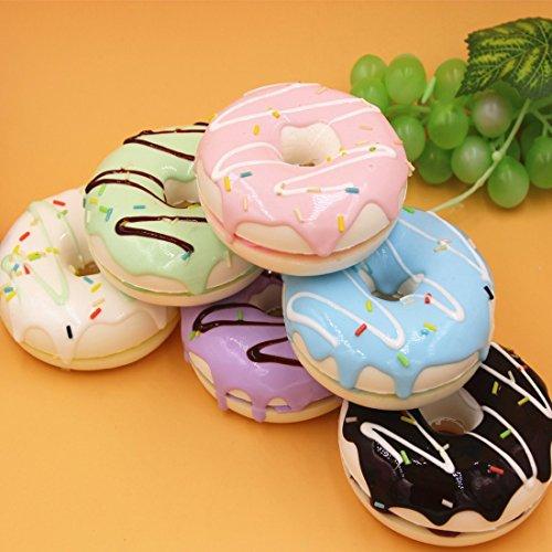 Squishy Donut Toy : HABAER Jumbo Ultra Soft Kawaii Sandwich Donuts Squishy Stress Ball Toy, 9x3-cm Toy in the UAE ...