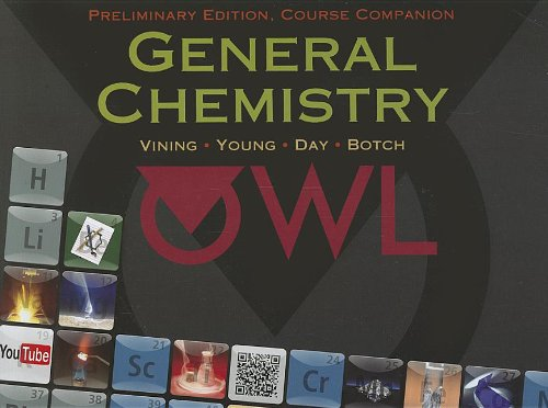 General Chemistry, Preliminary Edition