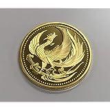 日本金貨 鳳凰 菊御紋 24K 純金 ゴールド コイン メダル レプリカ