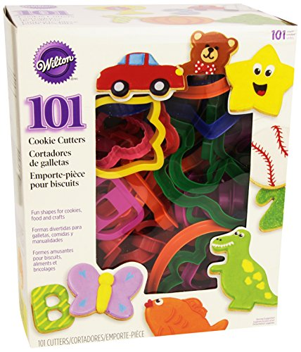 Wilton 2304-1104 101 Piece Cookie Cutter Set