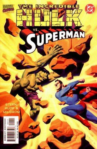 Incredible Hulk vs Superman 1st Print #7249 Prestige Format