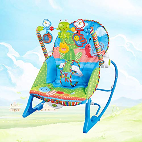 MAG.AL Baby Music Appease Shock Rocking Chair, Child Multifunction Electric Swing Cradle Chair, Adjustable Backrest Angle Infant Deck Chair