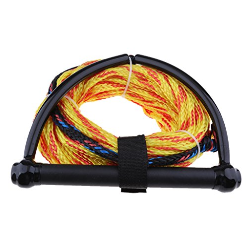 Almencla Water Ski Ropes with Floating Handle 72ft – Soft Grip Durable Practical Outdoor Tools