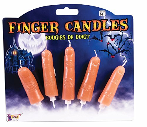 Forum Novelties 76270 Party Supplies Finger Candles One-Size As shown -