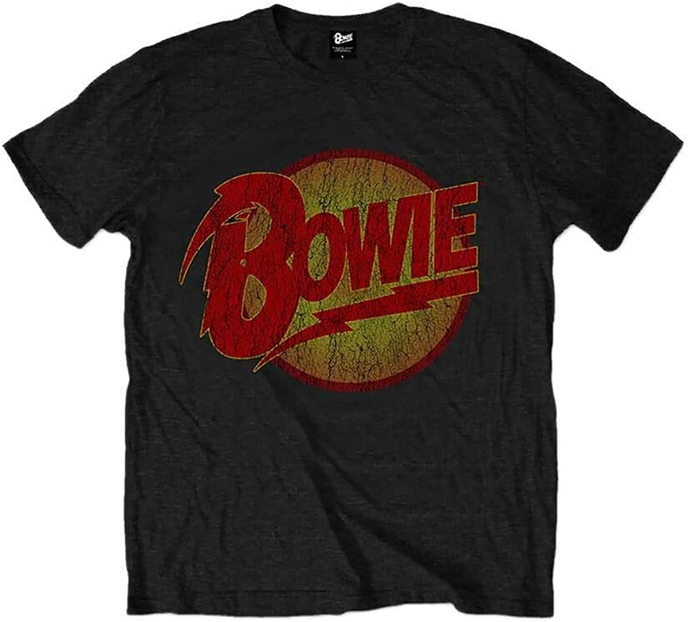 David Bowie Diamond Dogs Logo Black Kids T-Shirt