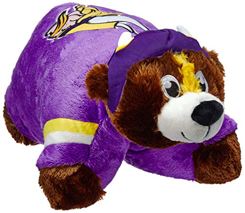 (Fabrique Innovations NFL Pillow Pet , Minnesota Vikings, Large)