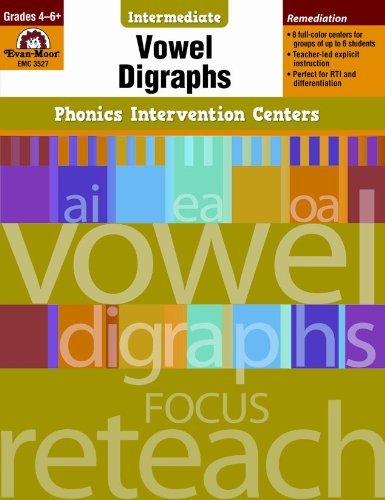 (Phonics Intervention Centers: Vowel Digraphs, Grades 4-6+ (Phonics Intervention Centers Intermediate))