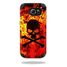 MightySkins Protective Vinyl Skin Decal for Mophie Juice Pack Samsung Galaxy S6 wrap cover sticker skins Bio Skull