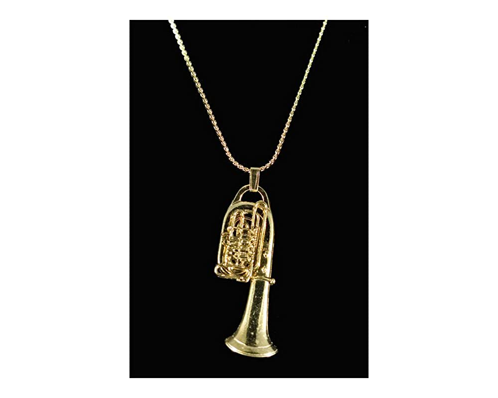 Tuba Necklace - Gold MUS262423
