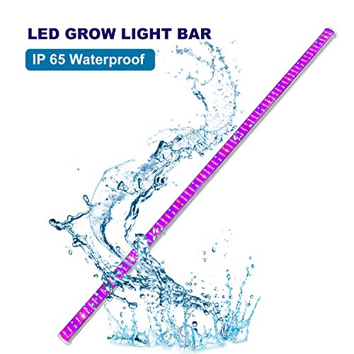 - Roleadro Led Grow Light Bar, IP65 Waterproof 150W Plant Light Strips for Indoor Plants with Red Blue Full Spectrum for Veg, Flower, Hydroponic Plants Growing