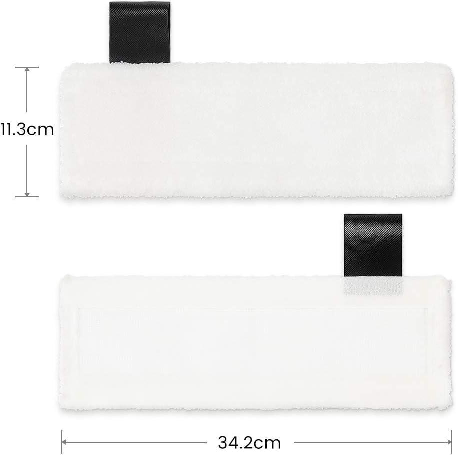 SC 5 Boquilla De Piso SC 4 Isincer Juego de Pa/ños de Microfibra Compatible con el Limpiador a Vapor K/ärcher EasyFix SC 2 SC 3 Paquete de 6