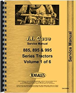 Case ih 895 tractor service manual 2 4 wd jensales ag products case ih 895 tractor service manual 2 4 wd jensales ag products 6301147625106 amazon books fandeluxe Images